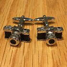 Stainless Steel Mens Vintage Retro Camera Novelty Cuff Links Cufflinks clinks16
