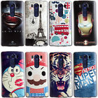 3D Embossed Painted Soft Silicone TPU Rubber Protection Cover Case For LG V10