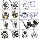 Authentic 925 Sterling Silver Safety Chain Clip for European Bead Charm Bracelet