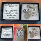 Good Luck On Your Travels Sixpence Coin Keepsake Gift Charm Plane Ship Boxed