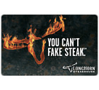 LongHorn Steakhouse® Gift Card - $25, $50 Or $100 - Email Delivery  For Sale