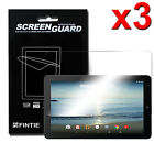 3 Pcs Clear Screen Protector Film for RCA 10 Viking Pro / Cambio W101 V2 Tablet
