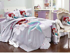 2016 New Disney Little Mermaid Bedding Set 4pc Bed Queen King Size RARE