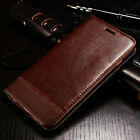 For Samsung Galaxy S7 & S7 Edge Case Leather Wallet Card Hol