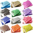 Polka Dots Pattern Sweet Paper Candy Bags  Wedding Gift Cake Colored
