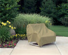 Waterproof Outdoor Glider Patio Furniture Two-Seat Cover Protection
