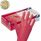 1000 Einmalhandschuhe Red Pearl - rot - puderfrei -  unsteril - Nitrilhandschuhe