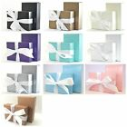 """The Finest on Ebay"" 10 Luxury Rectangle Wedding Favour Gift Or Cake Boxes"