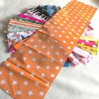 Random Printed Polycotton SKINNY STRIPS - Bundles From 1-100 * Not Fat Quarters