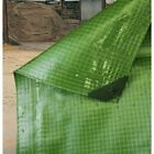 TARPAULIN Heavy Duty Monotex 250gsm Clear or Green various sizes. Strong Durable