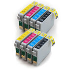 2 Full Sets of Compatible (non-Epson) Printer Ink Cartridges to replace T0715