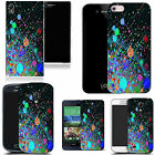 art case cover for All popular Mobile Phones - paint drops silicone