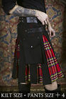 Stewart Royalist Hybrid V-Kilt by Verillas Real Soft Durable Cotton