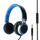 RockPapa Foldable Adults Kids Headphones Headsets f iPod MP3/4 PC iPhone Samsung New