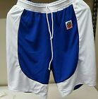 Men's  Basketball Team Sport Microfiber Reversible Shorts S-Xl  XXL 3XL 4Xl