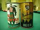 Manhattan Beer Flat Top Beer Can