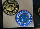 2 x Northern Soul Embroidered Patches - The Catacombs/Wigan Casino
