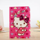 3D Bow Kitty Cartoon Smart Cover Leather Stand Cover Case For iPad Mini1/2/3/4