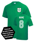 Northern Ireland Custom Name & Number Euro 2016 Football T-Shirt All Sizes