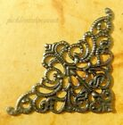 Filigree Corner Ornate Decorative Metal Scrapbooking Cardmaking Embellishments