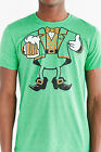 NEW Urban Outfitters leprechaun outfit St. Patricks Day green t-shirt tee beer