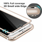 Full Curved 3D Tempered Glass LCD Screen Protector For Apple iPhone 6 6s Plus