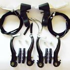 Complete Mountain bicycle Alloy V Brakes & Levers & cables set MTB Bike v-brakes