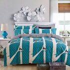 Queen/King DUVET/QUILT/COMFORTER  COVER SET 100% COTTON  3pcs