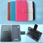 For Hisense smartphone-Wallet Folder Stand Flip Folio PU Leather Case Cover