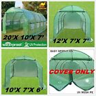 20'X10'X7', 12'X7'X7', 10'X7'X6' Strong Camel Green House Replacement COVER ONLY
