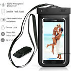 Swimming Waterproof Underwater Dry Pouch Arm Bag Case For iPhone X/8/Cell Phone