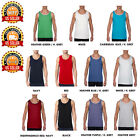Mens Workout Tank Top Bodybuilding Gym Muscle Fitness Football Sleevless A-Shirt