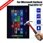 9H Premium Tempered Glass Screen Protector Film For Microsoft Surface Pro 2 3 4