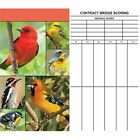 Songbirds Bridge Score Pad