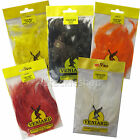 Veniard Large  Saddle Cock Hackles Feathers for Trout Fly Tying Craft and Hats