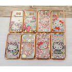 For SamSung Galaxy S7 & S7 Edge HelloKitty Colored Drawing TPU Soft Case Cover