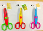 NEW Decorative Craft Border Sewing Scissors Scallop Wavy Pinking Paper Shears BH