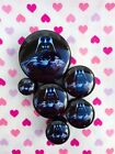 Pair of Darth Vader Ear Plugs Tunnels Gauges- 6mm - 25mm