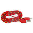 Braided USB Charger Cable Data Sync Cord For OEM iPhone 7 7 Plus 6 6s 5 5c SE