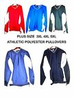 Men's Plus Size WindShirt Wind breaker Pockets Pullover Big Tall 3XL 4XL 5XL