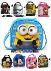 Kids Boys / Girls Cartoon Characters Insulated Lunch Bag