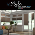 Perfect Fit Pleated Blinds Hive Range Blackout