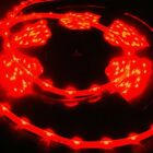 335 side-emitting red LED strip waterproof adhesive backing AC DC power adapter