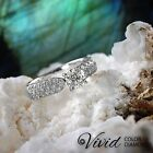 Diamond Engagement Ring 1.15 TCW Round VS/G-H 14k White Gold Size 6.5 Enhanced