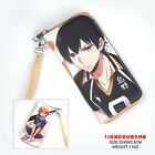Anime Gintama/Dragon Ball/Fairy Tail/Date A Live etc PU Long Wallet with Zipper