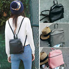 Women's Cute Small Mini Faux Leather Backpack Rucksack Purse Cute bag 2pc set