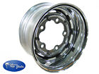 Deep Dish Stock Style Chrome VW Wheels, 5 Lug, 15 x 7 Inches Wide, Each **DEACTI