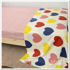 240cm*50cm love 100% cotton bedding fabric kids baby bedding fabric quilt tecido