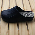 New Mens Chef Shoes Slippers Sandal Clogsr Safety Kitchen Non-Slip Comfort Navy
