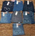 LEVI'S 524 WOMENS JUNIOR SIZE PICK LEG ULTRA LOW-RISE DENIM JEANS LIST UP TO $46